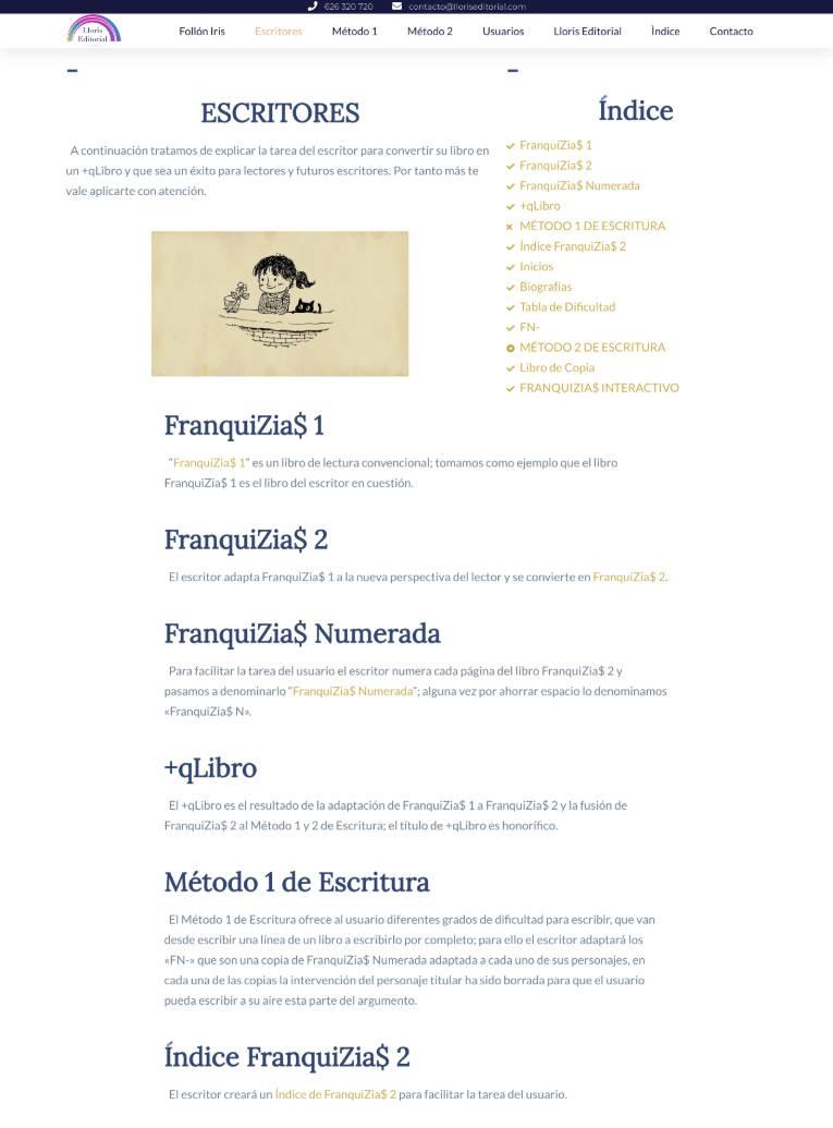 formacion diseno web valencia web alumno lloris