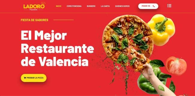 web restaurante valencia